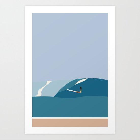 FORNØJELSE SURF Nr.03 Art Print