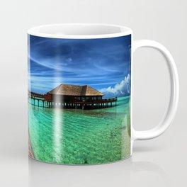 Stilt Bungalows In Mauritius Holiday Resort Ultra HD Coffee Mug
