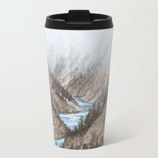 Yellowstone National Park, USA Metal Travel Mug