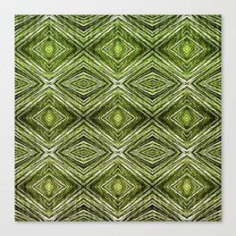 Memories of Woven Grass, Verdure Canvas Print