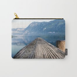 Pier At Lake Bohinj In Triglav National Park Slovenia Ultra HD Carry-All Pouch