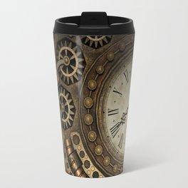 Steampunk Clockwork Travel Mug
