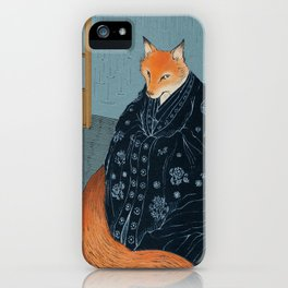The Fox's Wedding iPhone Case