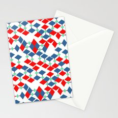 geometric number 5 Stationery Cards