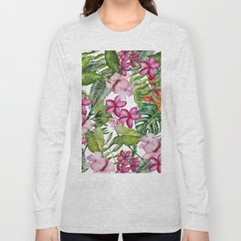 Tropical Garden 3 Long Sleeve T-shirt