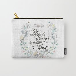The Secret Garden - She Made Herself Stronger Carry-All Pouch