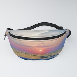 Naples Florida sunset on the Gulf of Mexico Fanny Pack