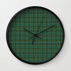 Canadian Fancy Tartan Wall Clock