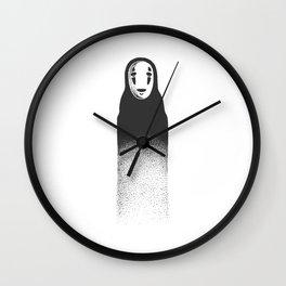kaonashi Wall Clock