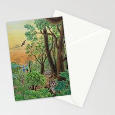 A Day of Forest (9). (the forest at night) Stationery Cards