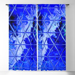Triangle Glass Tiles 49 Blackout Curtain