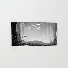 Dark Forest at Dawn Hand & Bath Towel