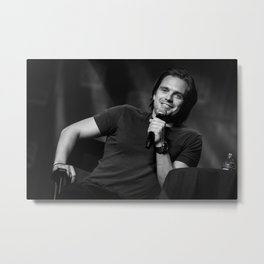 Sebastian Stan | SLCC 2015 Metal Print