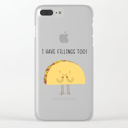 I have fillings too! Clear iPhone Case