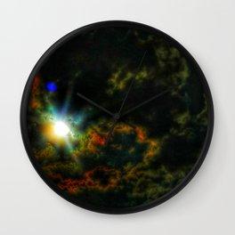 Emerging Sun Wall Clock