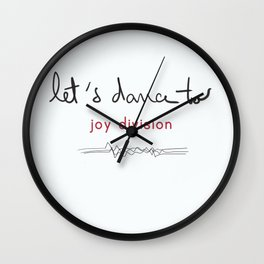 Let's dance to JD Wall Clock