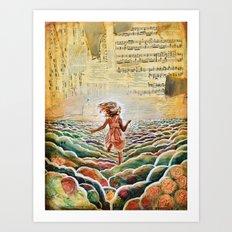 Heavenly Places Art Print