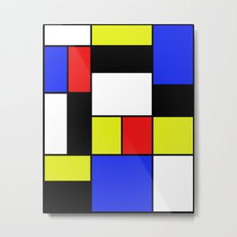 Mondrian #20 Metal Print