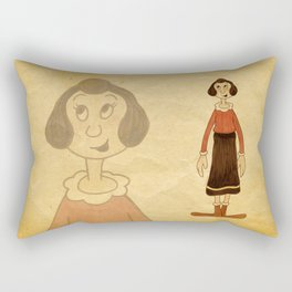 Olive Oyl Rectangular Pillow