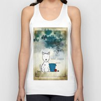 westie Tank Tops featuring Love is a Four Legged Word ~ Westie ~ West Highland White Terrier by Ginkelmier