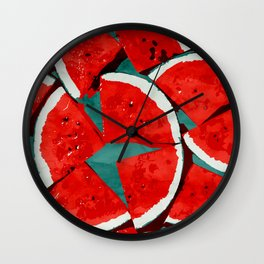 Melon, fruit Wall Clock