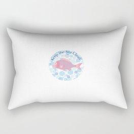 Keep the Sea Clean Rectangular Pillow