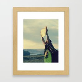 Are you lonely? Framed Art Print