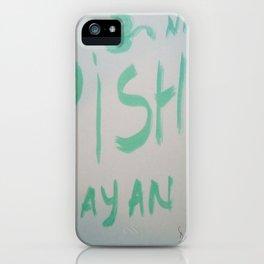 Vishnu Narayan iPhone Case