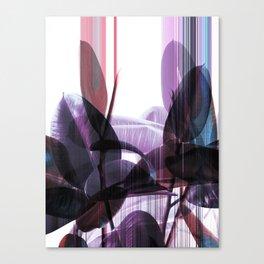 Tropical Glitches Canvas Print