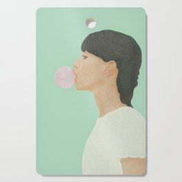 Blowing Bubble Gum Cutting Board