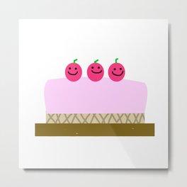 Sweet cake Metal Print