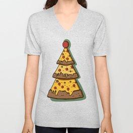 Pizza Tree Unisex V-Neck