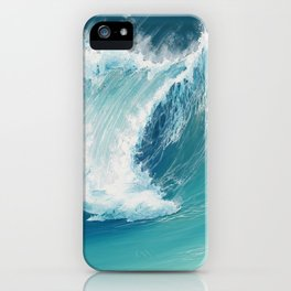 Musical Thunder iPhone Case