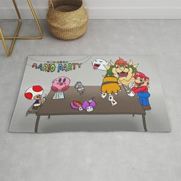 The Real Mario Party Rug