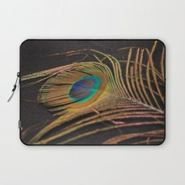 Peacock Feather Laptop Sleeve