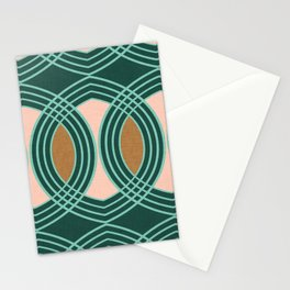 celtic ogee Forest Stationery Cards