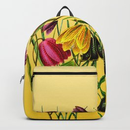Fritillaria Flowers Backpack