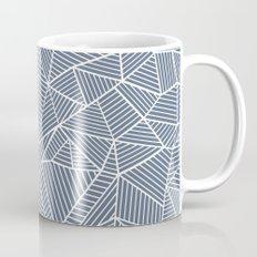 Ab Lines Navy and White Mug
