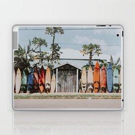 lets surf vi / summer surfboards in maui, hawaii Laptop & iPad Skin