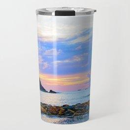 An Evening Glow Travel Mug