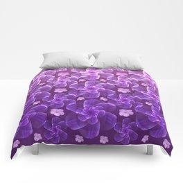 flowing florals Comforters