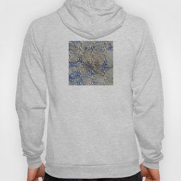 Optical Illusion: Geometric Weave Texture Design Hoody
