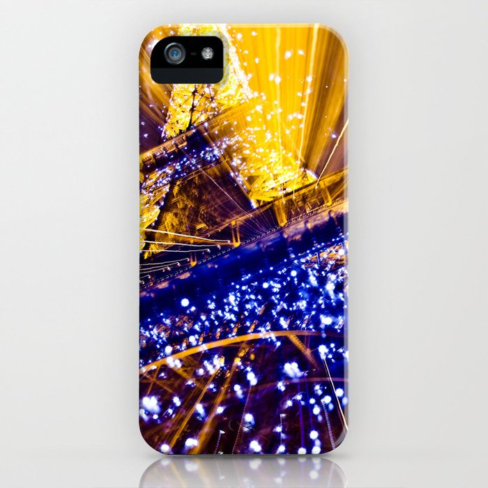 Supernova Eiffel iPhone Case