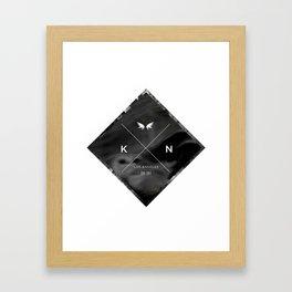 Kuro Noir  Framed Art Print