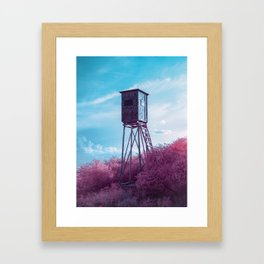 Pic from another world Framed Art Print