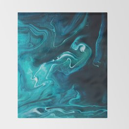 Gravity II Throw Blanket