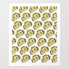 Taco Buddy Art Print