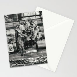 Balloons street photo Stationery Cards