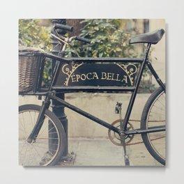 La Bella Epoca, La Belle Epoque, Vintage Bicycle  Metal Print