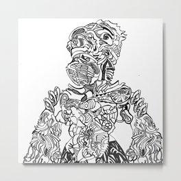 Wingless Metal Print